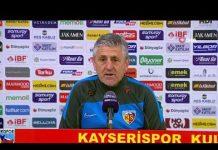 Ivko Ganchev: 3 puanlık maç değildi! | Kayserispor - Çaykur Rizespor : 2-1