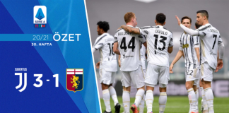 Juventus 3-1 Genoa Maç Özeti