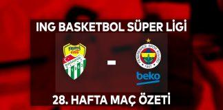 Frutti Extra Bursaspor 82-77 Fenerbahçe Beko Maç Özeti