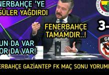 Fenerbahçe-Gaziantep 3-1: Maç sonu yorumları | Fenerbahçe'de yeni format, Sosa...