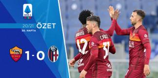 Roma 1-0 Bologna Maç Özeti
