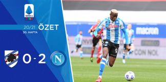 Sampdoria 0-2 Napoli Maç Özeti