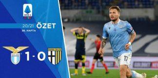 Lazio 1-0 Parma Maç Özeti