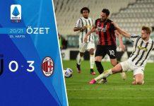 Juventus 0-3 Milan Maç Özeti