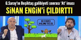 G.Saray'ın Beşiktaş galibiyeti sonrası Sergen Yalçın'a 'At'lı göndermesi Sinan Engin'i çıldırttı